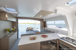 Cooking aboard a NEEL trimaran